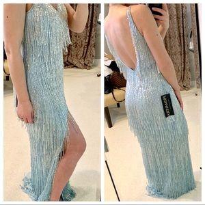 Primavera Couture Blue Gown